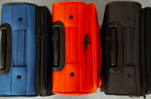 Prepare for Barcelona: suitcases