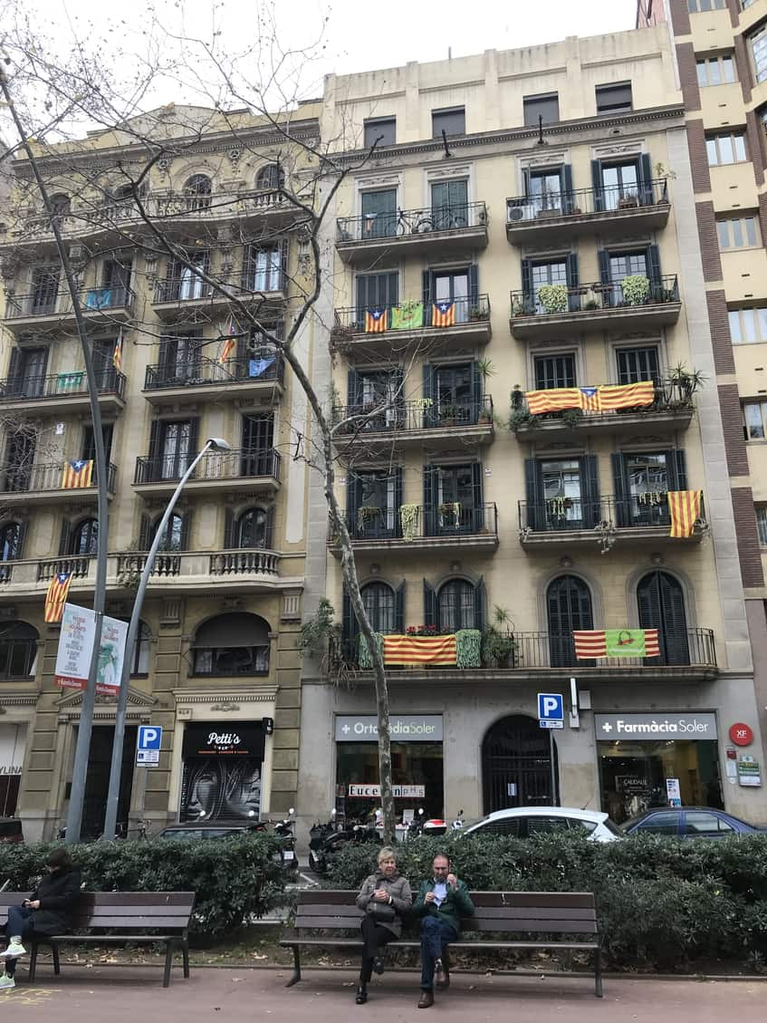 First-impressions-and-challenges-of-studying-abroad-in-barcelona-catalanflags