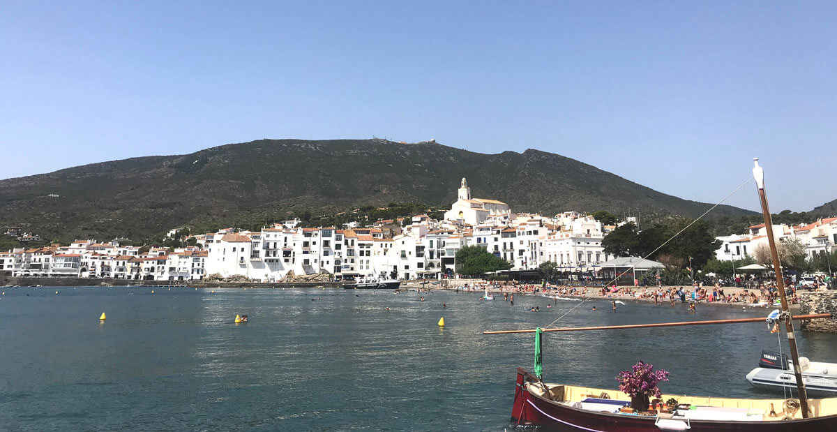 view of Cadaques town