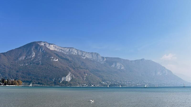 Beautiful view in Annecy