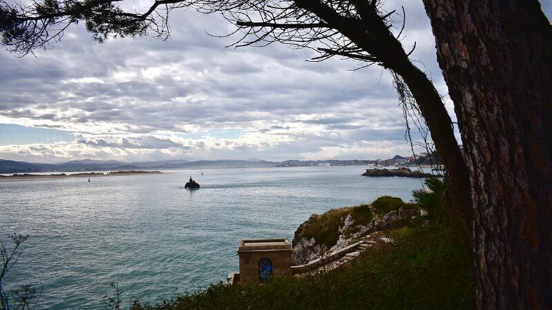 View Over Santander Beach Area