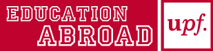 UPF Education Abroad red Logo